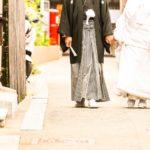 日本の伝統和婚でフラッシュモブサプライズ!